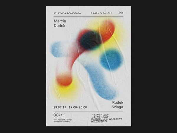 💥 😲 💥 Posters on posters on posters. The work of @aniawielunska + @igorkubik for @leto_gallery takes a structured typographi...