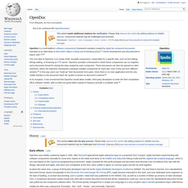 OpenDoc - Wikipedia