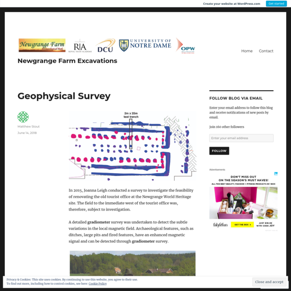 Geophysical Survey – Newgrange Farm Excavations