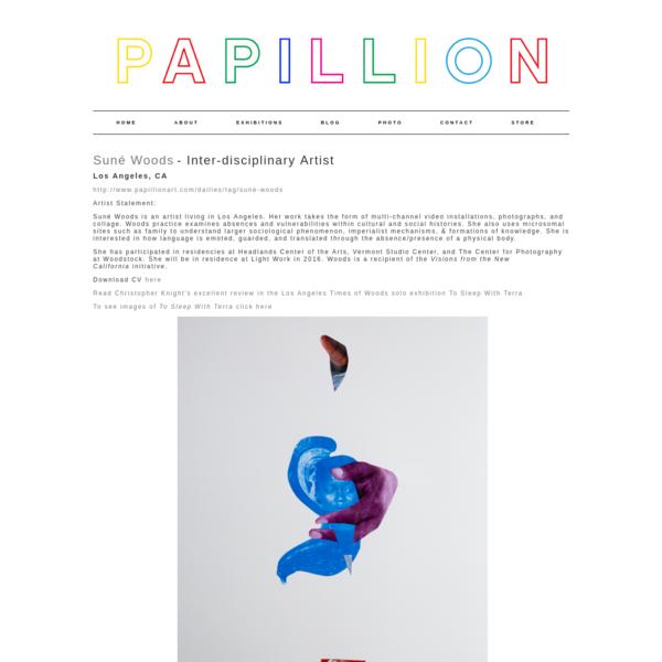 Suné Woods - PAPILLION