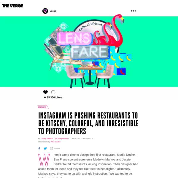 How Instagram is reshaping restaurant design