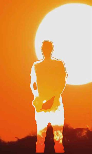 Daniel Rozin, sunset mirror