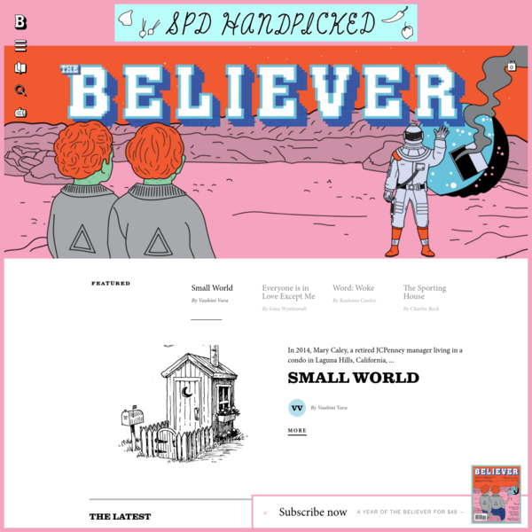 Home - Believer Magazine