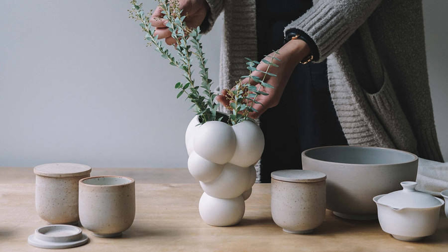 Skum vase by BIG