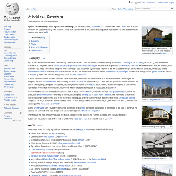 Sybold van Ravesteyn - Wikipedia