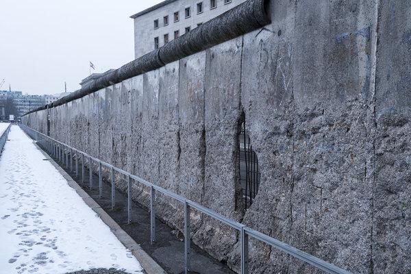 Remaining Segment of Berlin Wall