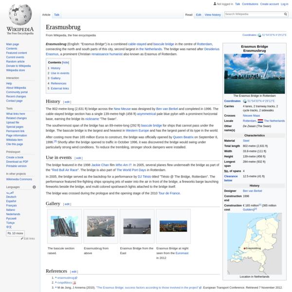 Erasmusbrug - Wikipedia