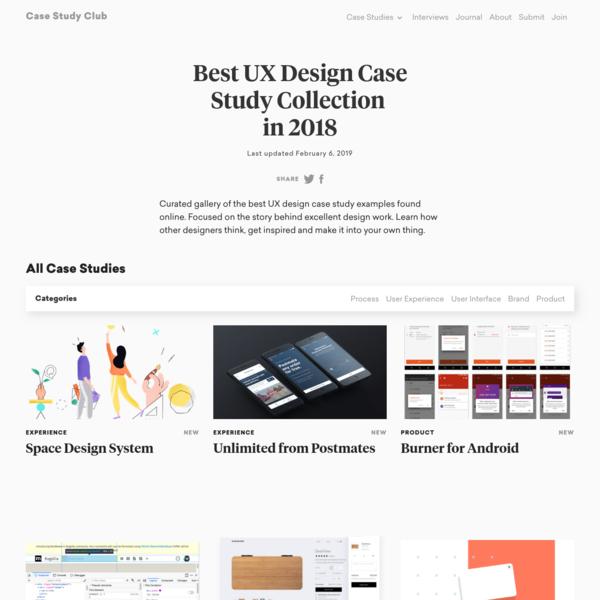 best ux case studies