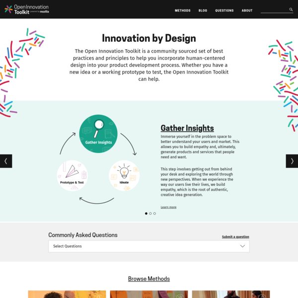 Innovation by Design | Open Innovation Toolkit