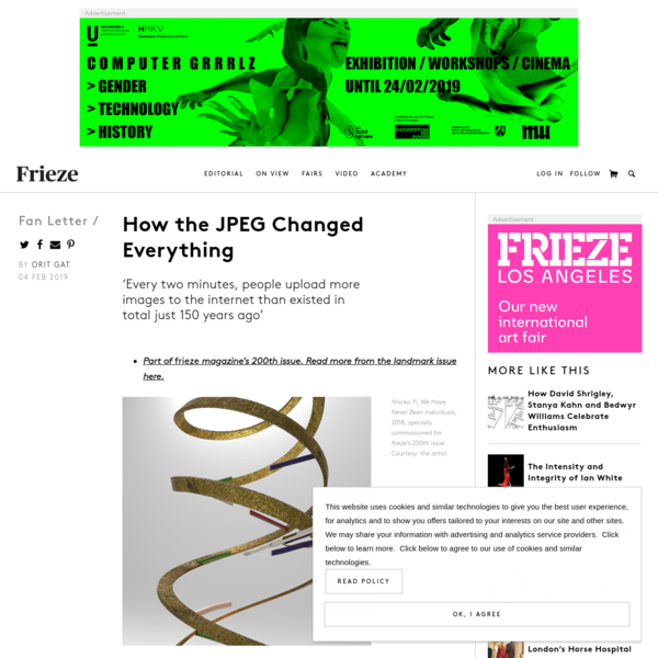 How the JPEG Changed Everything