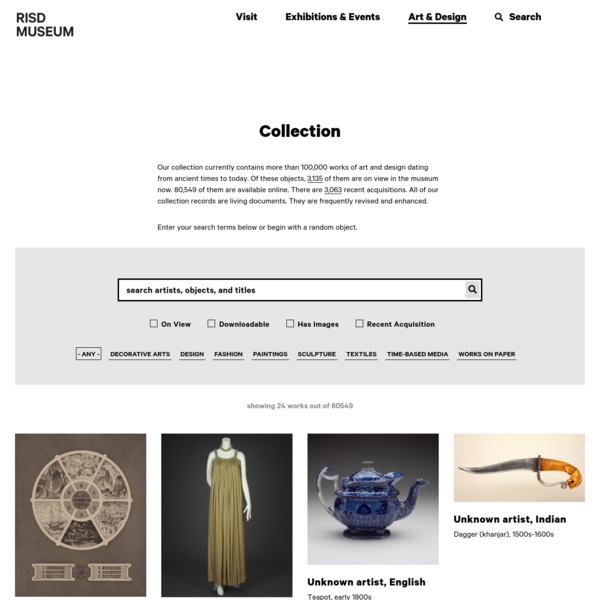 Collection | RISD Museum