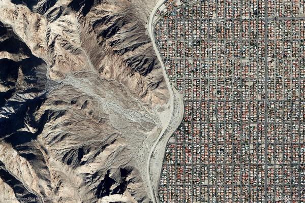 La Quinta, California, United States (Google Earth View 1785)