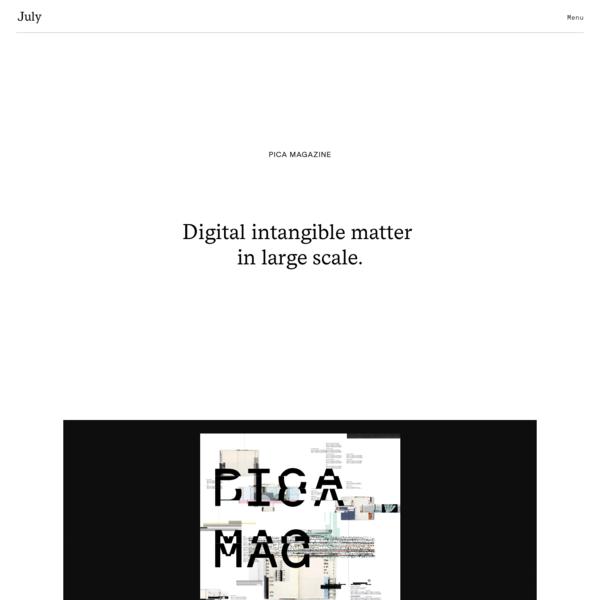Pica Magazine - July