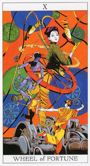 Wheel of Fortune - Himiko & Kasai-Love and Mystery Tarot