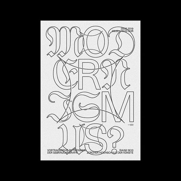 Loving Blackletter lately... let me know what you think! #typographicposter #typographic #typeposter #typeinspire #posterlab...