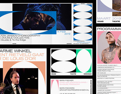 GRAND THEATRE GRONINGEN Visual Identity + website