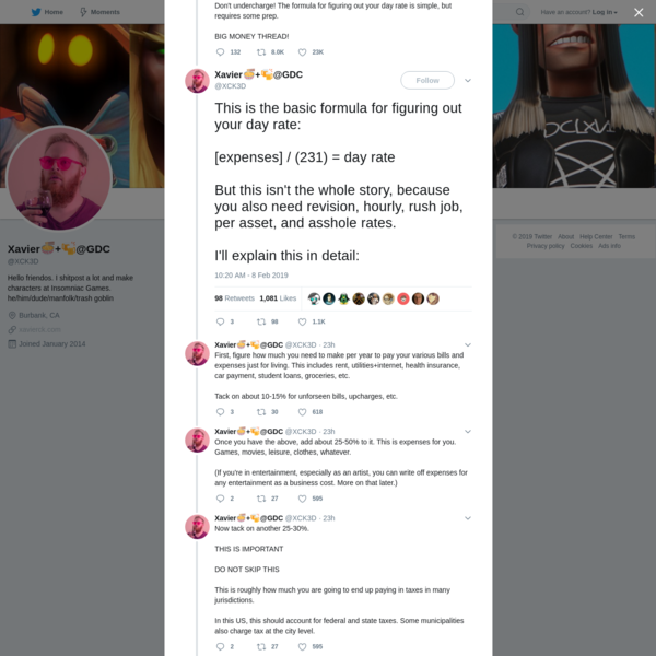Xavier🍜+🍻@GDC on Twitter