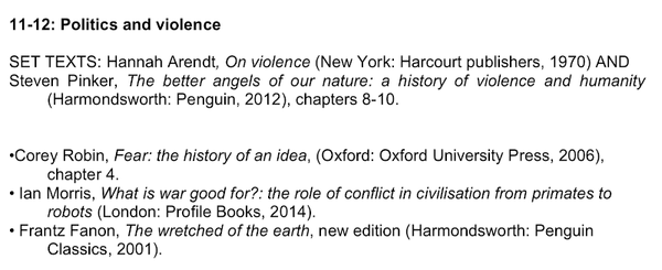 Part I HSPS Decolonial Reading List (2018-2019)