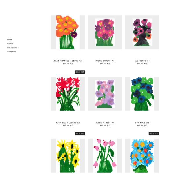 FLOWERS - Richard Ellis
