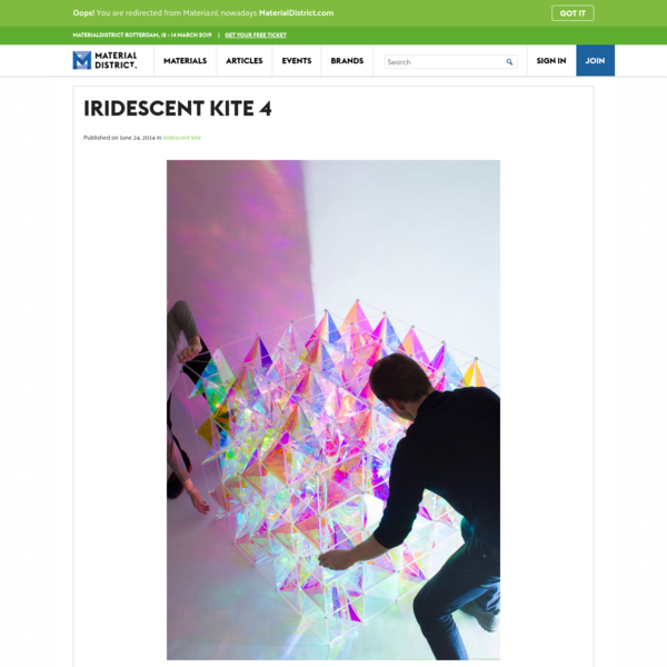 Iridescent kite 4 - MaterialDistrict