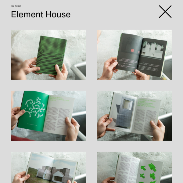 """Occasioned by the exhibition """"Element House: Architecture for a new ecology"""" at Denver's Museum of Outdoor Arts, this book tells the story of a prefabricated, modular house designed by the architec..."""