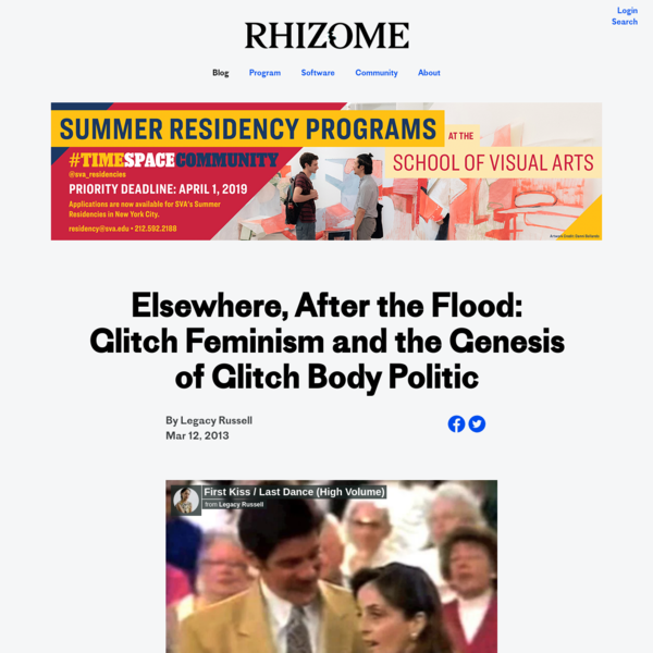 Elsewhere, After the Flood