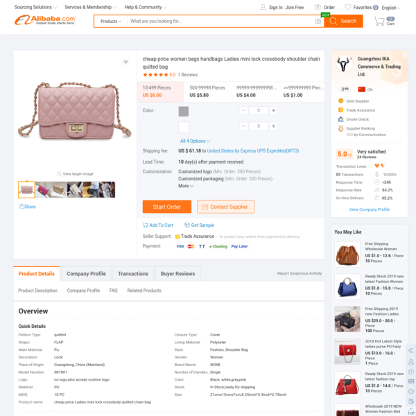 Cheap Price Women Bags Handbags Ladies Mini Lock Crossbody Shoulder Chain Quilted Bag - Buy Quilted Bag,Bags Women Handbags,...