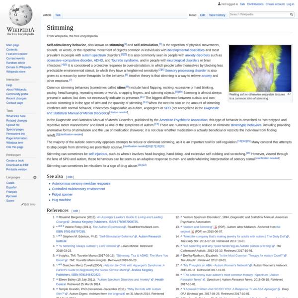 Stimming - Wikipedia