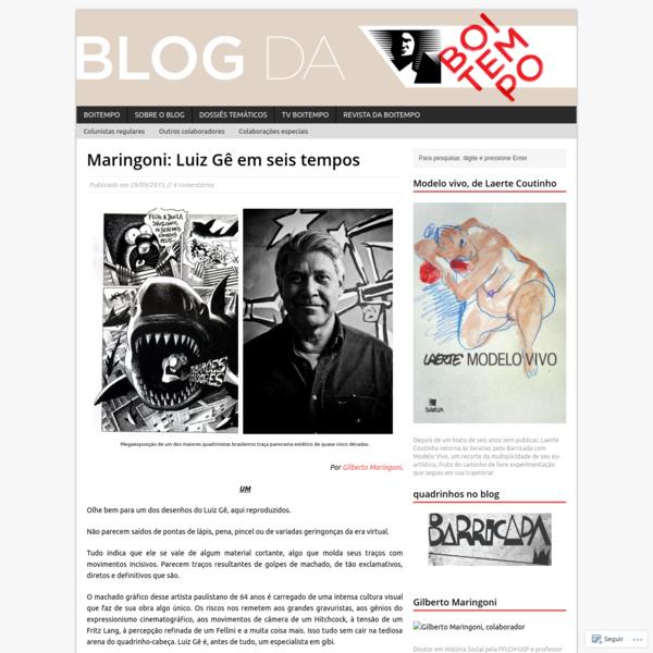 Maringoni: Luiz Gê em seis tempos