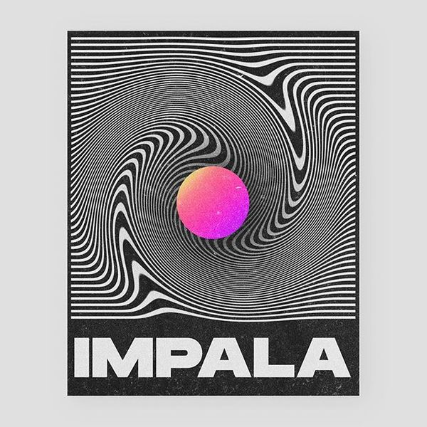 IMPALA by 🤖heavily inspired by the tame impala cover 💫 #poster #baugasm #postereveryday#designeveryday #baubauhaus#vasjenkat...