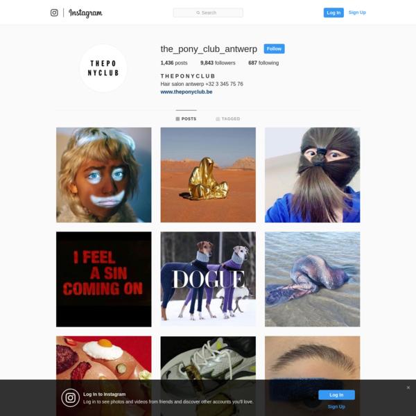 T H E P O N Y C L U B (@the_pony_club_antwerp) * Instagram photos and videos