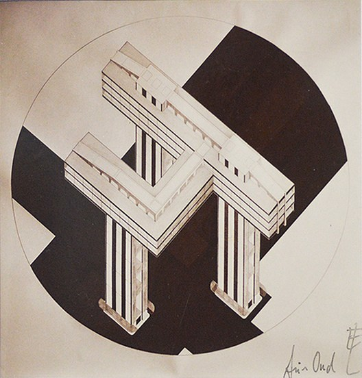 Lissitzky, Wolkenbügel (1924)