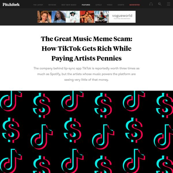 The Great Music Meme Scam: How TikTok Gets Rich While Paying Artists Pennies