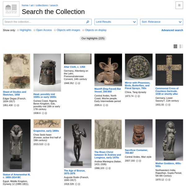 Search the Collection