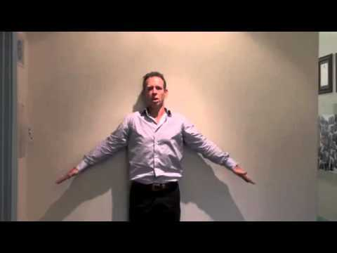 Exercise to improve hunchback posture forward head carriage correction