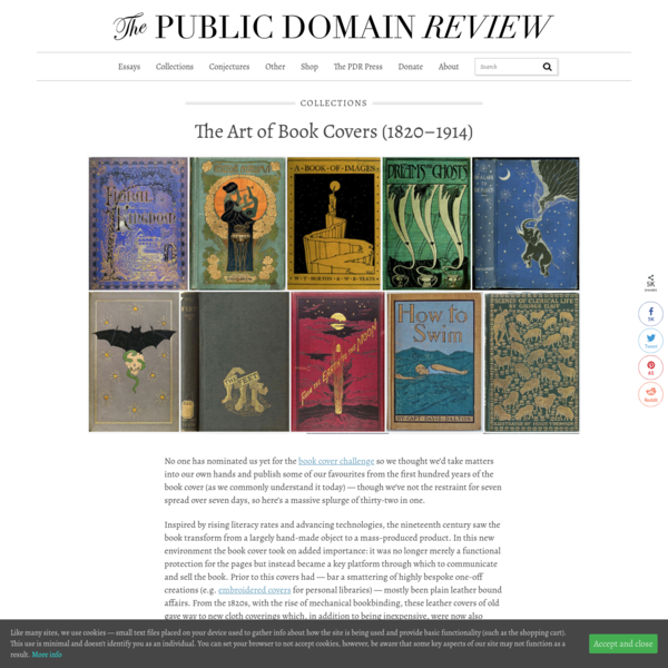 The Art of Book Covers (1820-1914)