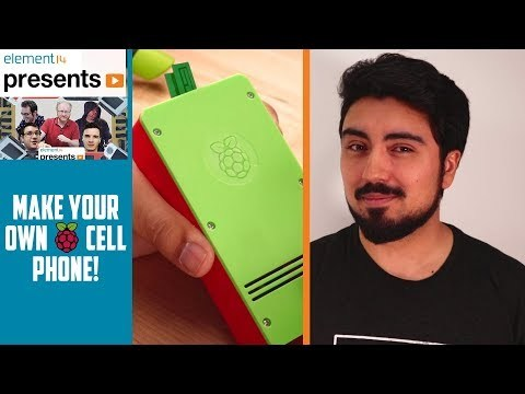 Make Your Own Raspberry Pi Cell Phone