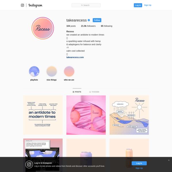 Recess (@takearecess) * Instagram photos and videos