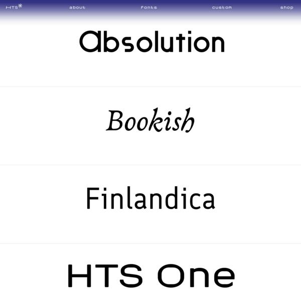 Helsinki Type Studio