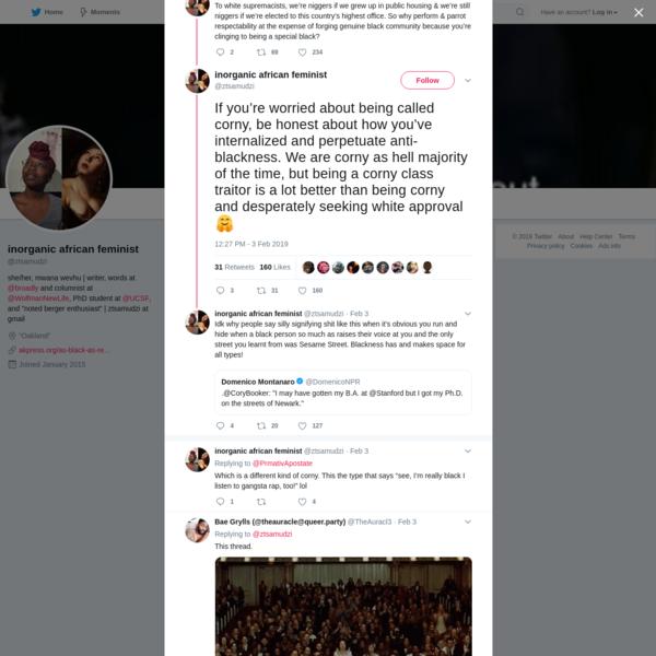 inorganic african feminist on Twitter