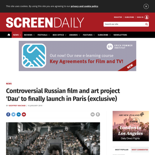 Controversial Russian film and art project 'Dau' to finally launch in Paris (exclusive)