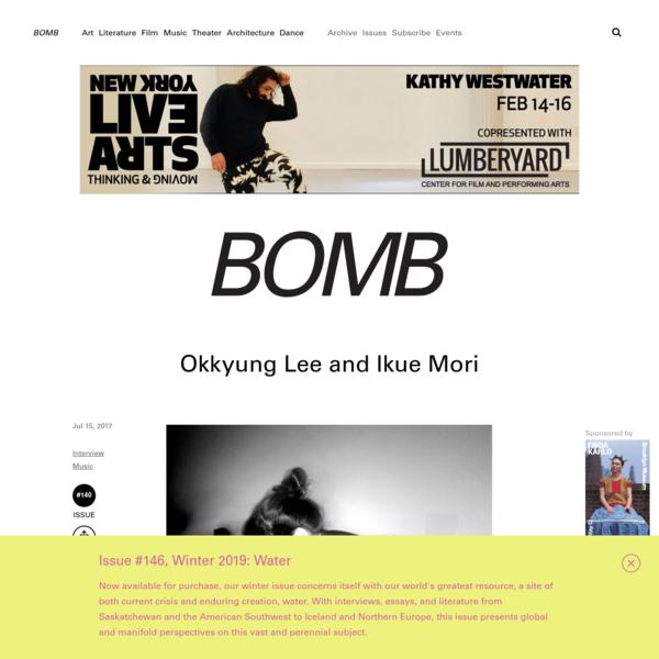 Okkyung Lee and Ikue Mori by - BOMB Magazine