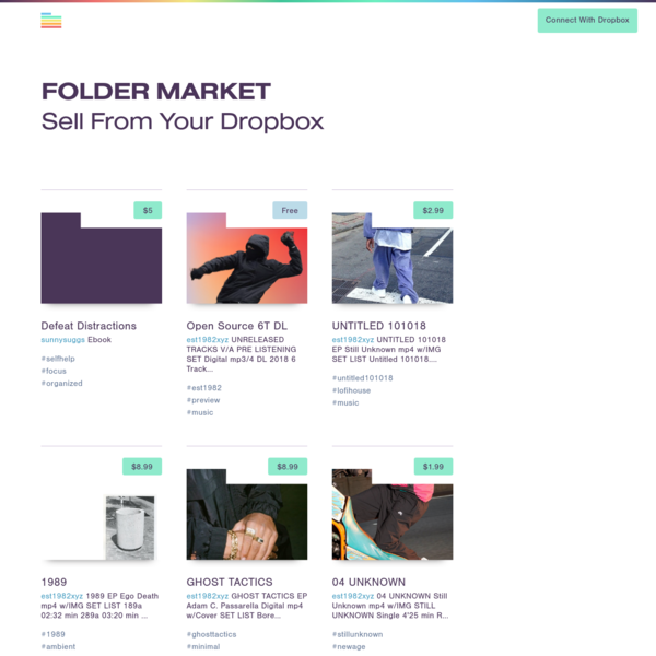 Folder Market