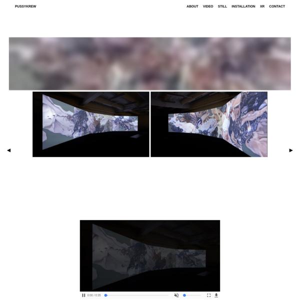 DIGITAL MEDIA ARTISTS / VIDEO / VR / EXPERIENTIAL DIRECTORS