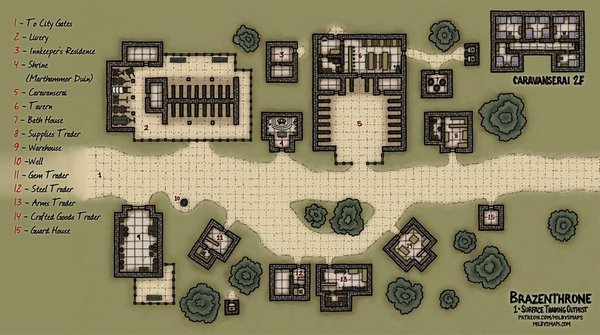 Dwarven Surface Trading Outpost