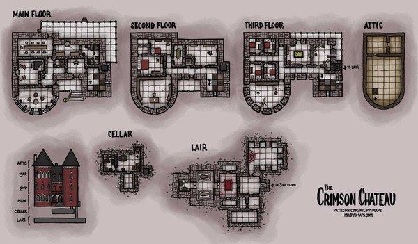 The Crimson Chateau