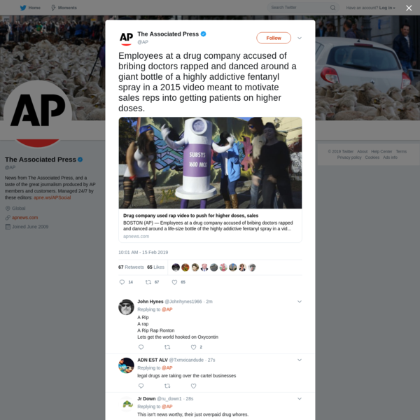 The Associated Press on Twitter