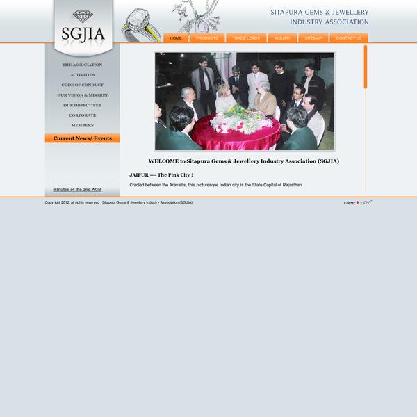 WELCOME to Sitapura Gems & Jewellery Industry Association (SGJIA)