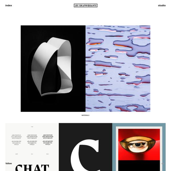 Les Graphiquants | Graphic design studio based in Paris | Graphistes