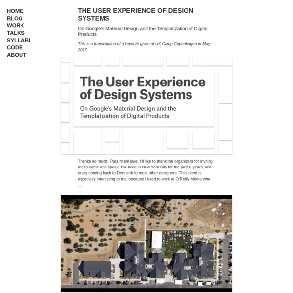 Rune Madsen - The User Experience of Design Systems